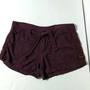 Maurices purple shorts size 11/12